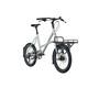 "Kalkhoff Durban Compact  Citybike 20"" grå/sølv"